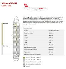 Airbus A319 Seating Chart Swiss Air Airlines Aircraft Seatmaps Airline Seating Maps