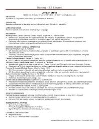 Critical Care Nursing Resume It Resume Cover Letter Sample