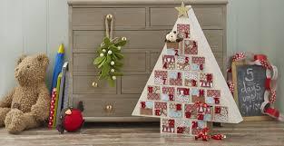 how to make a tree advent calendar