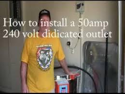 installing a 50 amp 240 volt outlet 28
