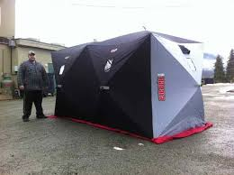 collapsible ice fishing s plans house