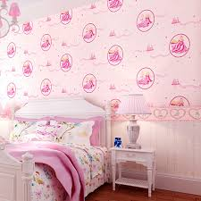 disney wallpaper for bedrooms. pure pink disney princess bedroom wallpaper romantic girl children s room aliexpress com buydisney for bedrooms p