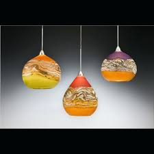 blown glass pendant light shades se hand blown glass pendant lamp shades
