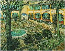 image only van gogh courtyard of the hospital at arles the