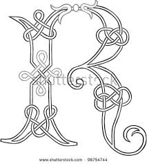Business Letterhead Fascinating Celtic Knot Letter R Trisamoorddinerco