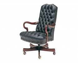 tufted leather executive office chair with regard to desk chairs perta