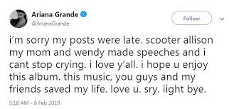 Ariana Grande Hints That She Was Still In Love With Mac