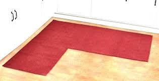 l shaped rugs rug impressive runner astonishing awesome corner furniture home interior unusual odd kitchen