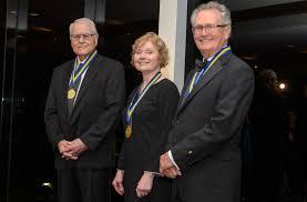 David Riggs, Beverly Smith and Sid Dunagan - Law Alumni