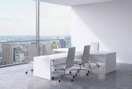 Ceo Office Design Unique Modern Office Interior With Huge Windows And New York Panoramic
