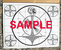 Indian Head Test Pattern Simple Chuck Pharis Web Page The Indian Head Test Pattern Story