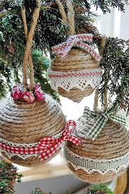how to make your own christmas tree decorations and how to