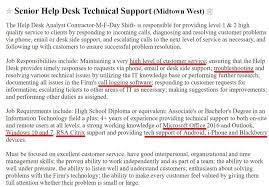 Helpdesk Resume Corol Lyfeline Co Help Desk Analyst Examples Help