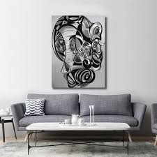 silver black abstract animals 3d metal
