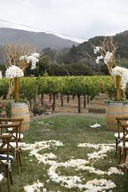 Floral Design By Reina Ceremony View Venue Folktale Winery Planning Design