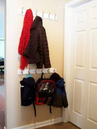 Standard Height For Coat Rack mudroom coat racks Adult and kid height Organizing ideas 46
