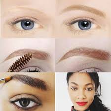 dark haired should select a eyebrow color little lighter than hair on head