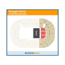 Seating Chart Tsongas Arena Lowell Ma Tsongas Center At Umass Lowell Lowell Event Venue