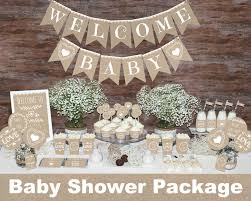 neutral baby shower decor ideas billingsblessingbagsorg