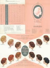 21 Clairol Professional Hair Color Chart