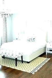 rug size under king bed rug under king bed what size area 6 9 throw rug rug size under king bed