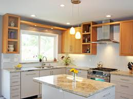 Cool Gray Contemporary Kitchen Catherine Nakahara HGTV - Contemporary kitchen colors