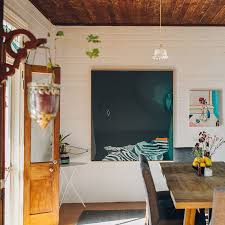 a remote cottage in australia teeming with artwork design sponge