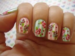 6 Flower Nail Art Designs | Best Nail Designs