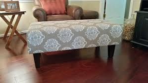 Upholstered Coffee Table Diy Ottoman Styles Upholstered Coffee Table