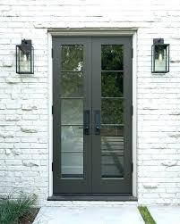 Entry Door Hardware Modern French Doors Modern French Doors Exterior