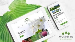 Web Design Courses Galway Turas Creative Murphys Garden Centre Clients Web Design