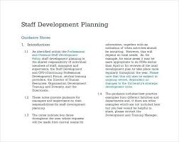 Hotel Staff Development Review Sample Performance Improvement Plan ...