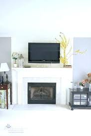 mounting tv above fireplace studs mount over no
