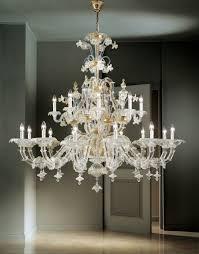 traditional venetian glass chandelier