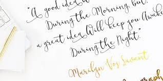 modesty stylish calligraphy font designhooks