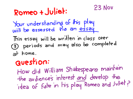 romeo and juliet reflective essay example  essay for you