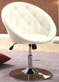 vanity stools and chairs. Vanity Stools And Chairs Office Stool Chair Swivel Seat Accent Round Tufted Back Bedroom Desk .