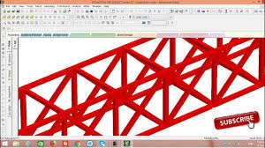 Steel Arch Truss Design Long Curved Truss By Staad Pro V8i