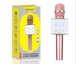 <b>Wireless</b> HI FI <b>Bluetooth Mic</b> Speaker <b>WS</b>-<b>858</b>