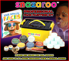 snazaroo professional face paint painting kit 400 faces