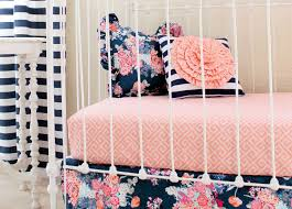 Kate Spade Bedding Navy Floral Baby Bedding Lottie Da Baby Baby Bedding Nursery