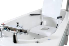 syncra height adjule modular bath with powered seat