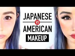 anese makeup vs american makeup before after transformation kawaii or y wengie