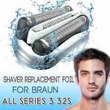 <b>Replacement Shaver</b> Head <b>Foil</b> for Braun Series 3 32B 32S <b>21B</b> ...