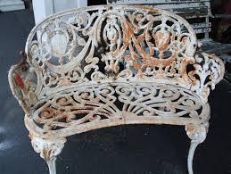 white iron outdoor furniture. Brilliant Outdoor Super Ornate Cast Iron Garden Set  For Sale On White Outdoor Furniture A
