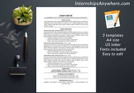 Resume Template Cover Letter References Template Traditional
