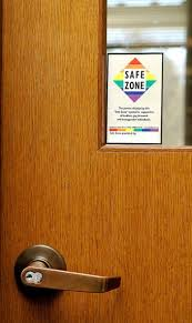 office space kit. school office door with a sticker that says space kit