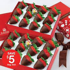 chocolate dipped strawberries box bundle edible arrangements