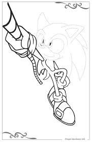 Sonic X Disegni Per Bambini Piccoli Da Stampare E Colorare