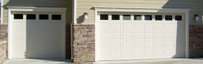 raynor garage doorsAffina Colonial Almond Garage Doors by Raynor  Doormasters INC
